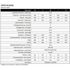 """VOTEC VE Evo - Enduro Fully 27,5"""" - sky blue/black matt"""